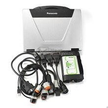 Outil de diagnostic pour moteur penta marine volvo, vocom 88890300 +, thinkbook CF52, ordinateur portable