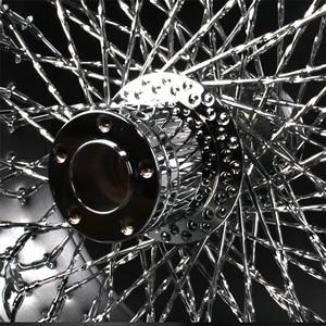 """Image 5 - Jantes de roue arrière chromée pour moto HARLEY DAVIDSION, 18 """"x 10.5"""", Modification"""