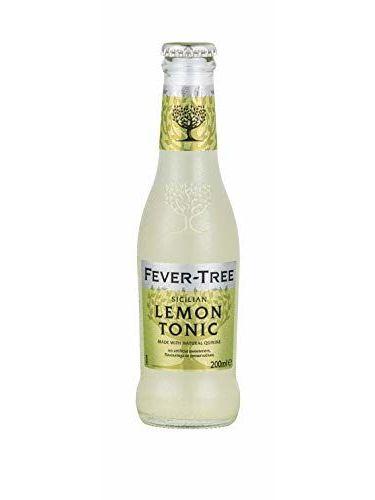 Fever-Tree Lemon Tonic Water 4 X 200 Ml (Pack Of 6, Total 24 Bottles)
