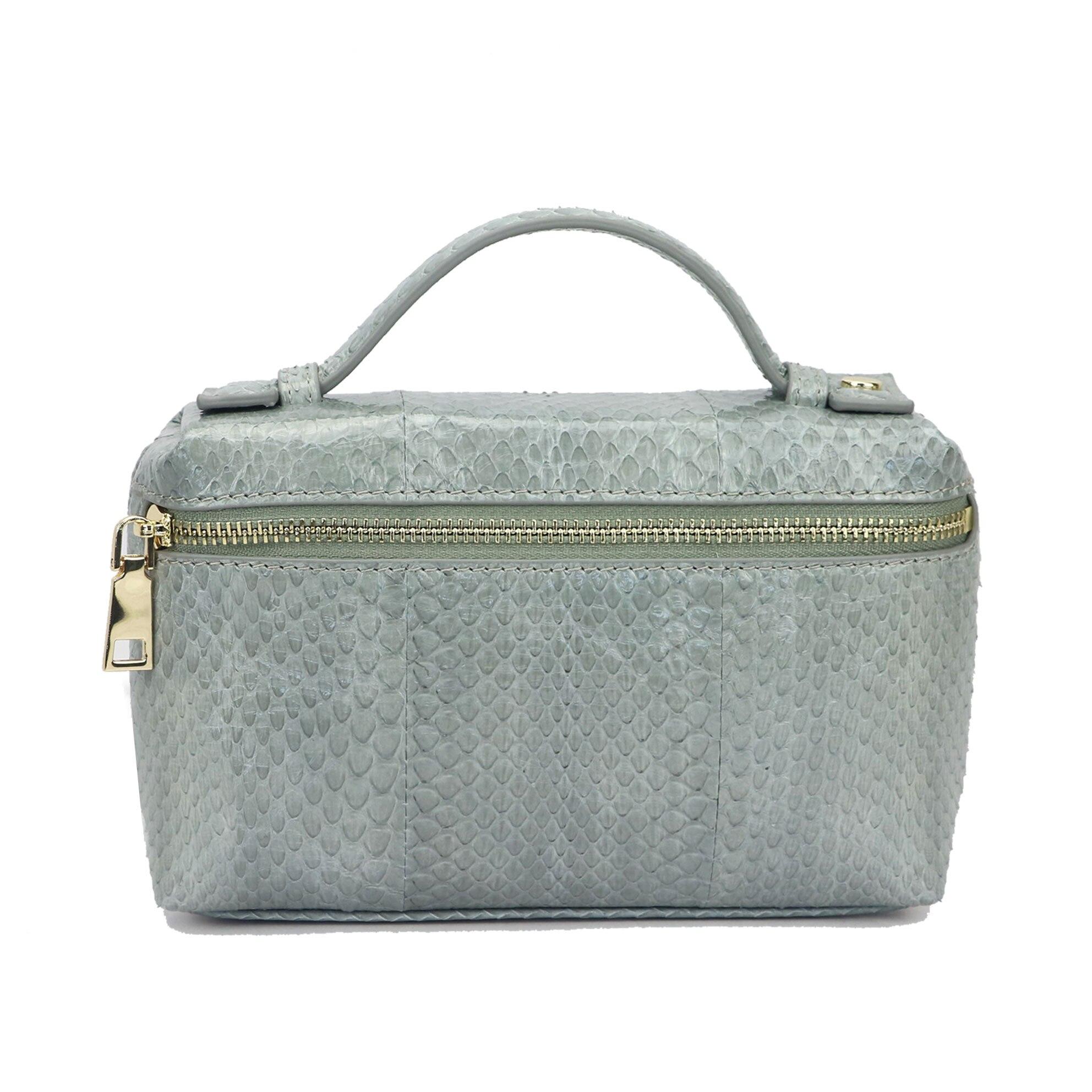 Handbags Portable Genuine Snake Skin