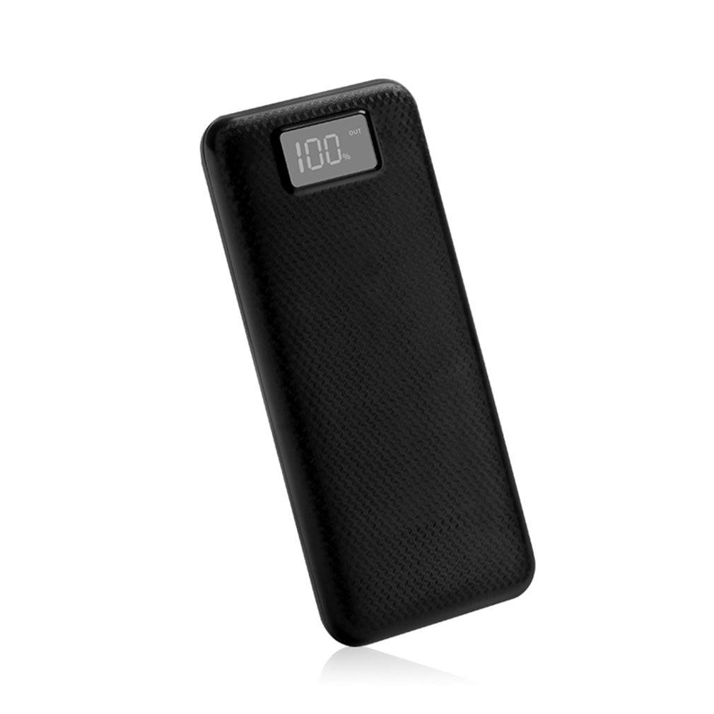MY8 Power Bank Shell LCD Digital Display Dual USB Output Power Bank Charger Case DIY Kits Module 8pcs 18650 Battery Holder 5V 2A