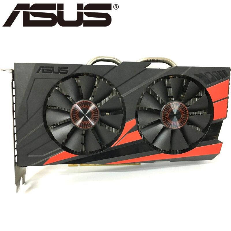 Видеокарта ASUS, оригинал GTX950, 2 ГБ 128 бит GDDR5 графические платы для nVIDIA, видеоадаптеры Geforce GTX 950, б/у, для игр 1050 750 TI-0