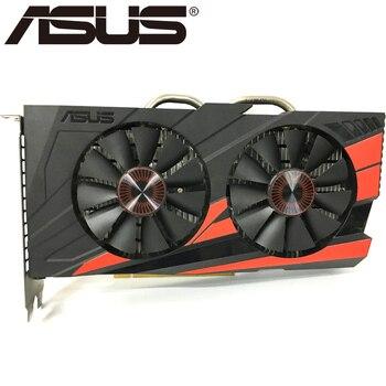 Видеокарта ASUS, оригинал GTX950, 2 ГБ 128 бит GDDR5 графические платы для nVIDIA, видеоадаптеры Geforce GTX 950, б/у, для игр 1050 750 TI