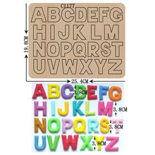 New letters A to Z Wooden die Scrapbooking C1177 Cutting Dies