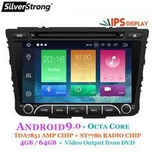 SilverStrong IPS 4G 64GB Android9.0 DVD del coche para Hyundai Creta IX25 2014-18 2DIN DVD Radio navegación opción 2G16G/DSP/TPMS/DVR