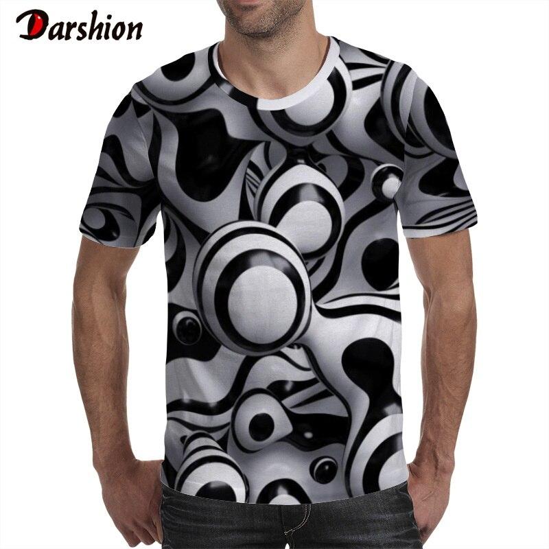 Summer Men Fashion 3D Digital Printed T-Shirt Casual Loose O-Neck Short Sleeve Top Tees Big Size 4XL Mens Brand Shirts Clothing
