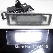 2 шт. светодиодный светильник номерного знака для Kia Cadenza Premium Optima 06-14 Optima Hybrid 11-12 K2 K3 K5 с CE E-Mark