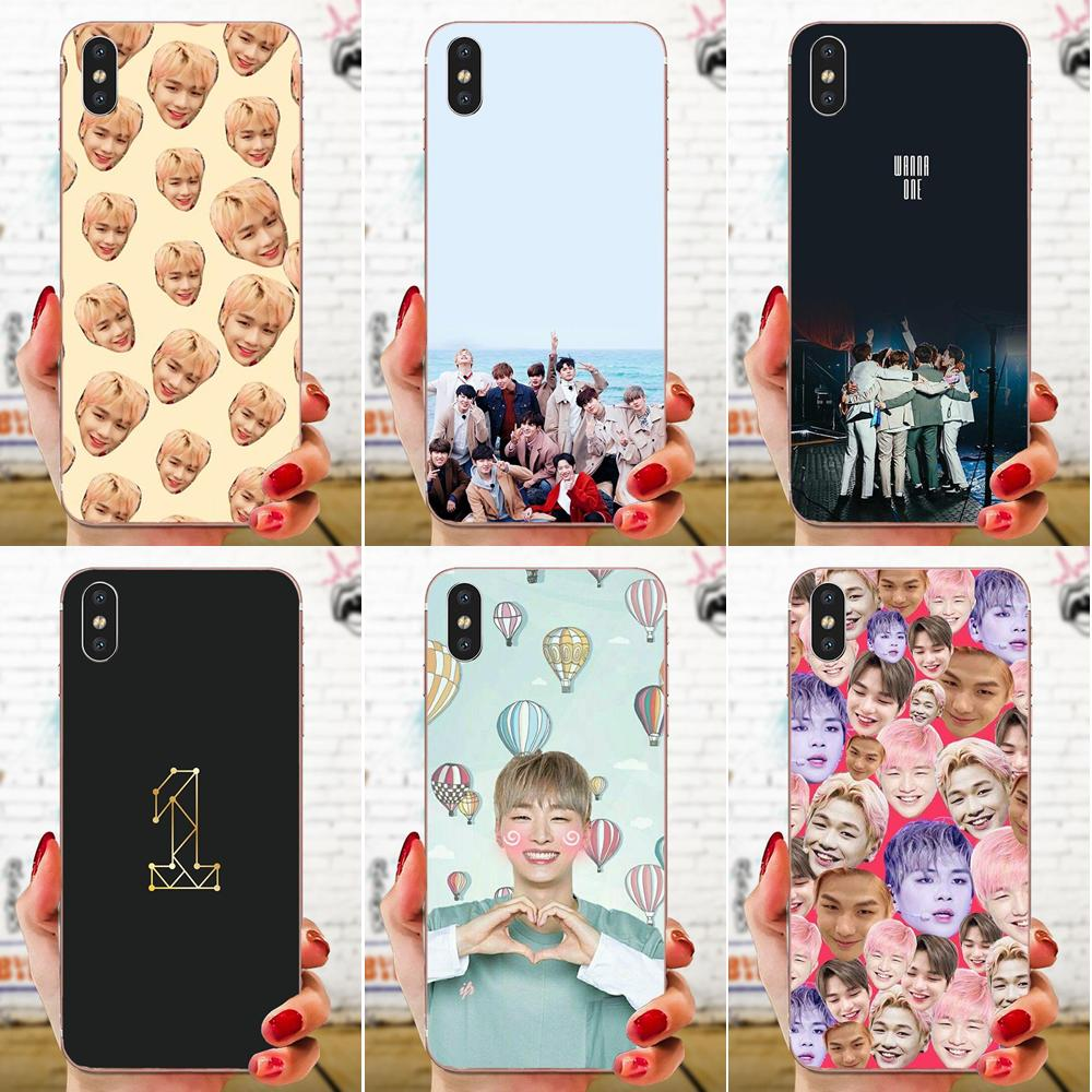Soft TPU <font><b>Cases</b></font> Wanna One Kpop Bands For <font><b>Sony</b></font> <font><b>Xperia</b></font> Z Z1 Z2 Z3 Z4 Z5 compact Mini M2 M4 M5 T3 <font><b>E3</b></font> E5 XA XA1 XZ Premium image