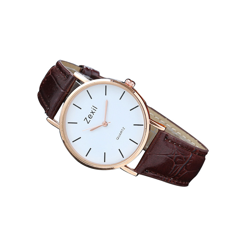 Fashion & Casual Simple Atmosphere Watch Male and Female Students Quartz