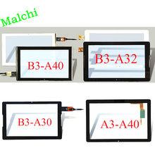 Para acer iconia um 10 capacitivo tela de toque PB101JG3179-R4 pb101jg2657 B3-A30 b3-a40 b3-a20 fhd vidro digitador sensor