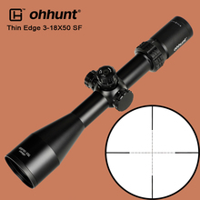 ohhunt Thin Edge 3-18X50 SF Hunting Optical Sights Mil Dot Glass Reticle with Side Parallax Turrets Reset Tactical Riflescope