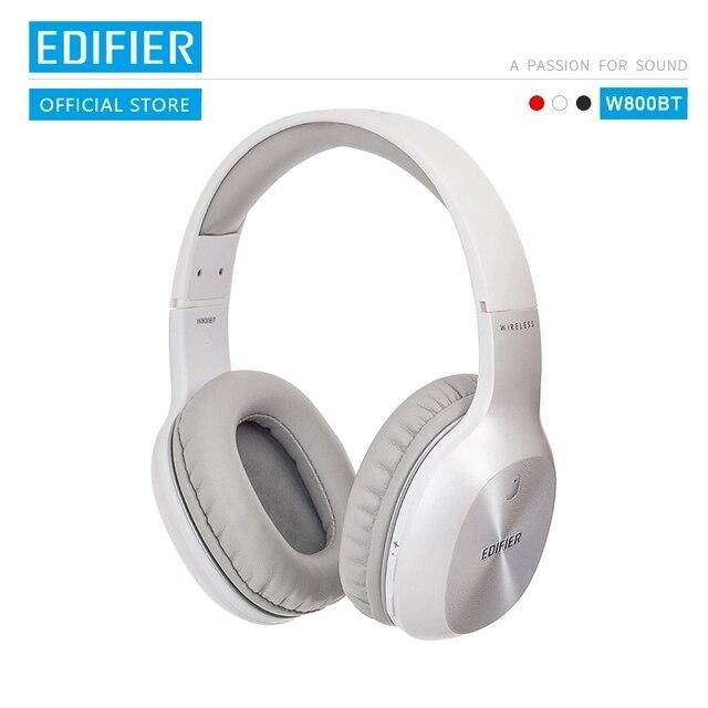 EDIFIER W800BT Trên Tai Nghe Nhét Tai Không Dây Bluetooth Tai Nghe OLightweight Thoải Mái Và Lên Đến 35 Giờ Phát Lại