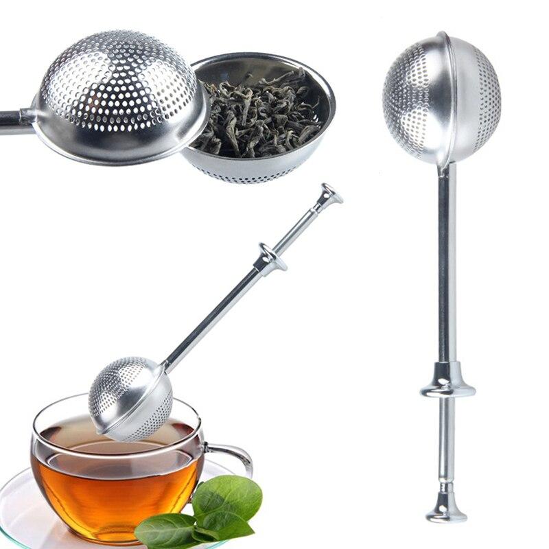Stainless Steel Tea Infuser Leaf Strainer Filter Herbal Spice Diffuser Kitchen Supplies