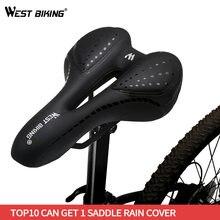 West biking велосипедное седло для горного и дорожного велосипеда
