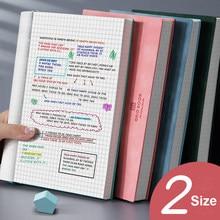 Cuaderno A5/B5, cuadrícula grande y súper grueso, cuadrícula cuadrada, diario, cuadernos, matriz de puntos, agenda, cuadrícula