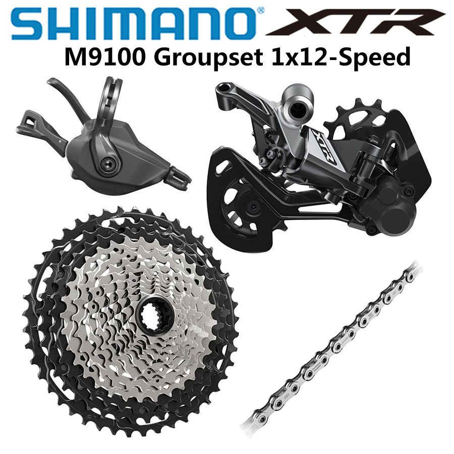 SHIMANO DEORE MTB 12 Speed Chain XTR XT SLX CN-M9100//8100//7100 126 LINK CHAIN