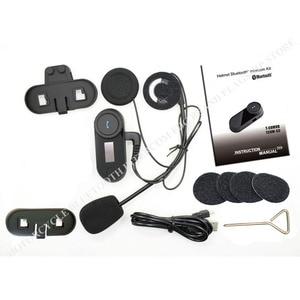 Image 5 - New Updated Version!! Motorcycle Motorbike BT Bluetooth Multi Interphone Headset Helmet Intercom T COM LCD Screen FM Radio