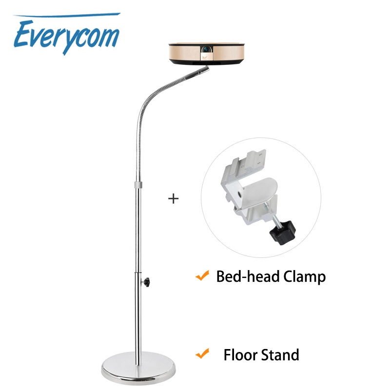 Everycom projector Floor Pan Tilt Dual-use Stand Bracket For XGIMI Z6 XGIMI CC JMGO J6S YG300 other LCD DPL projector Camera image
