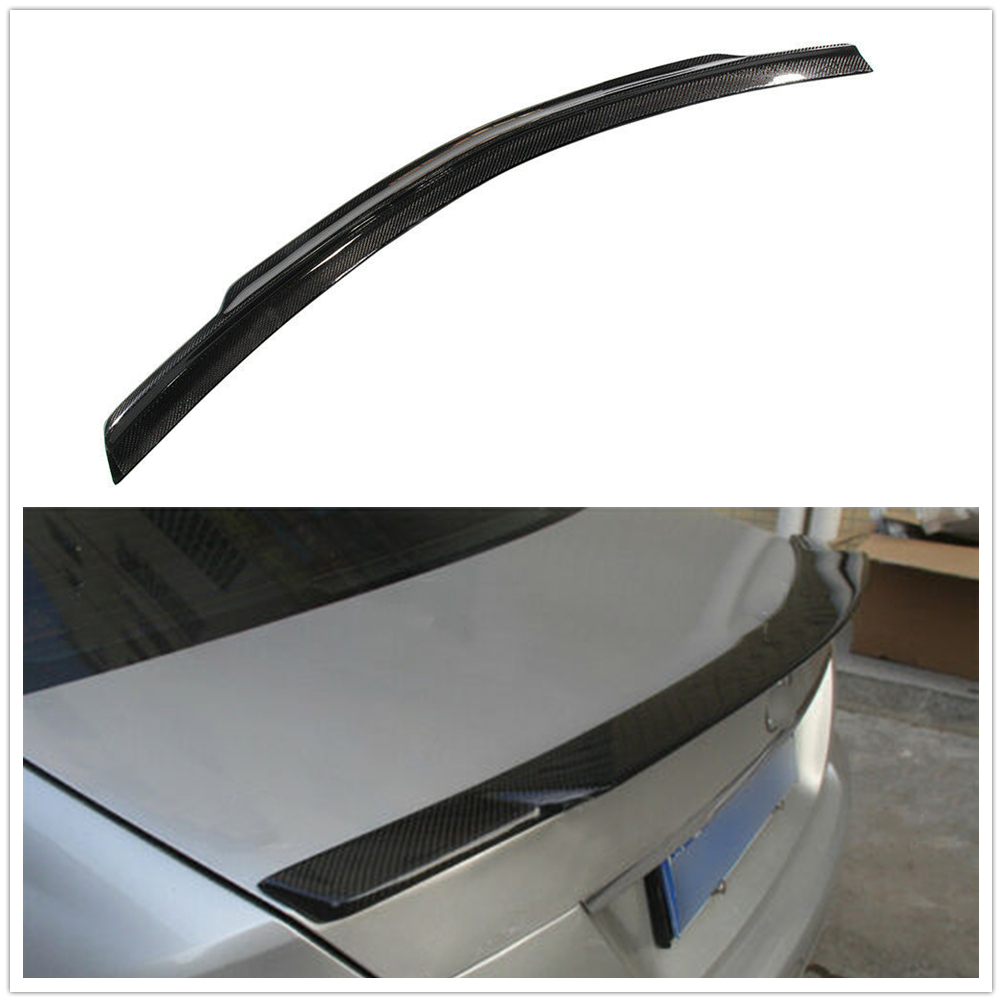 Rear Trunk <font><b>Spoiler</b></font> For <font><b>Mercedes</b></font> <font><b>Benz</b></font> <font><b>C</b></font> <font><b>Class</b></font> <font><b>W204</b></font> C63 AMG 2008 2009 2010 2011 2012 2013 2014 A image