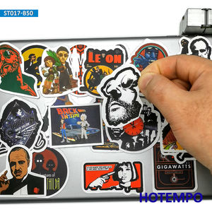 Image 3 - 50pcs Classic Movie Fight Club Godfather Mix Graffiti Stickers for Mobile Phone Laptop Luggage Pad Case Skateboard Decal Sticker