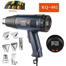 1800W Hot Air Gun Micro Rework Soldering Station LED Digital Display Hair Dryer For Soldering Heat Gun Welding Repair Tools