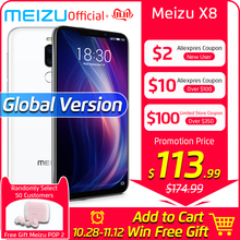 Meizu Snapdragon 710 X8 4GB 64GB Global-Version WCDMA/GSM/LTE/CDMA Mcharge Octa Core