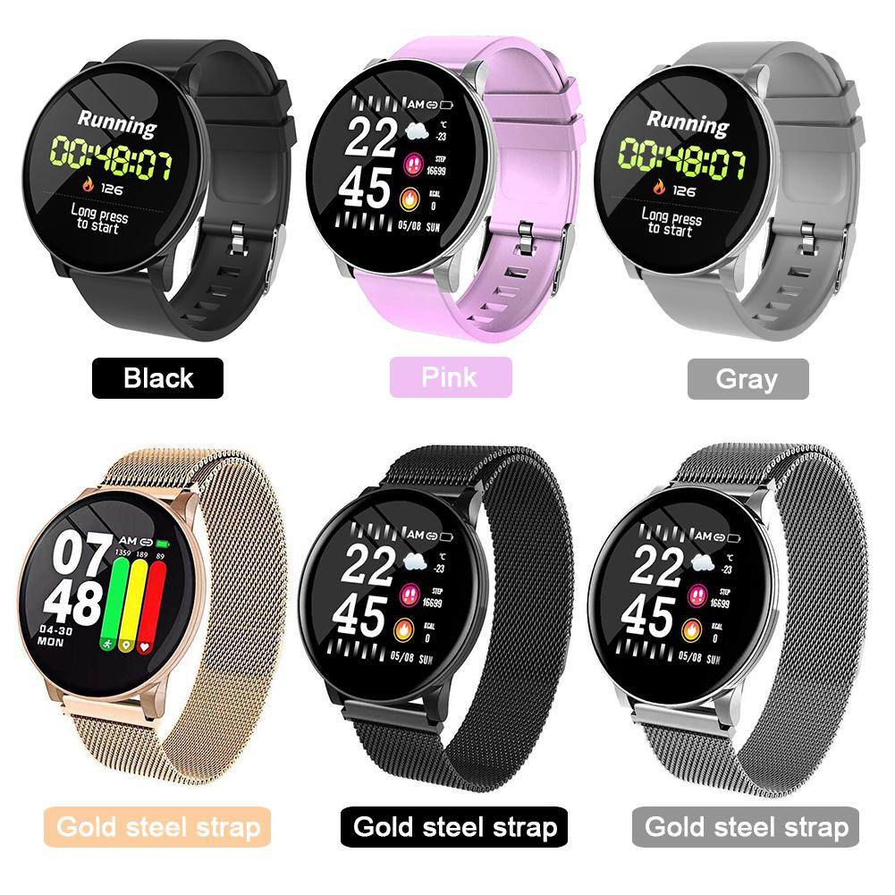 1.3-inch LCD Display Bluetooth Smart Watch Fitness Call Reminder IP67 Waterproof Sports Smartwatch Bracelet Heart Rate Monitor