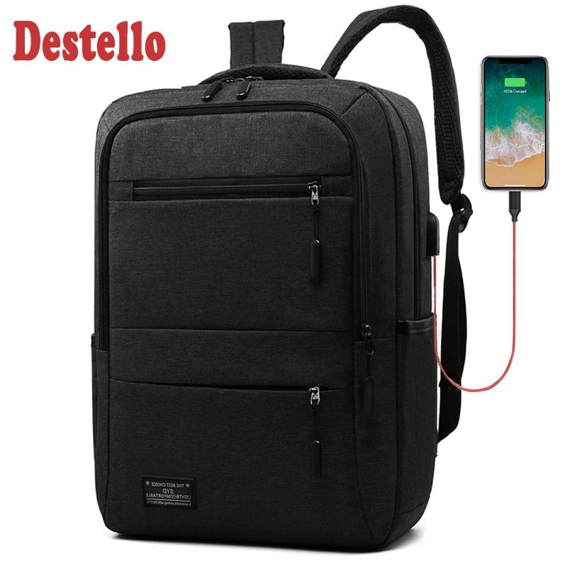 Computer Backpacks Travel Large Capacity Nylon Men Bag