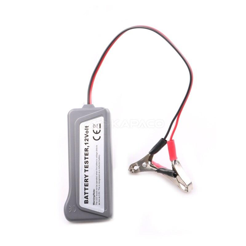 Image 5 - 12V Car Battery Tester Digital Alternator detector 6 LED Lights Display Battery Analyzer Auto Diagnostic Tool Battery Measurement Units   -