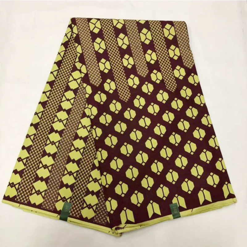 Ankara Nigerian African Pange Wax Fabric 100% Cotton High Quality Tissue Real Holland Block Print Super JAVA Wax Cloth Material