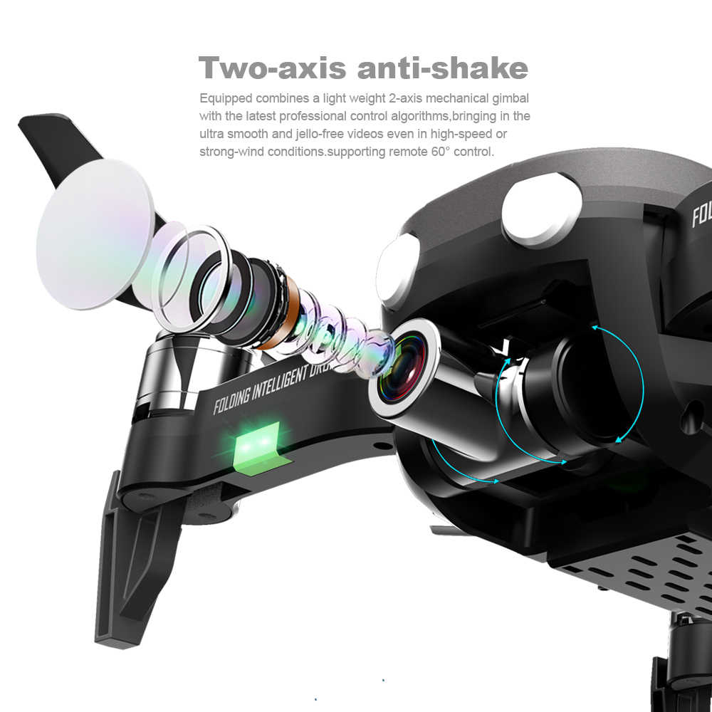 F8 Gps ドローン 4 18k ツー軸手ぶれ補正自己安定化ジンバルカメラ Quadrocopter RC ヘリコプター SD カード profissional VS F11 L109