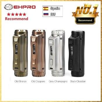 El más nuevo Ehpro acero frío 100 120W TC Box MOD con 0,0018 S potencia de velocidad de disparo ultrarrápida por batería 18650/20700/21700 vs Drag 2 Mod