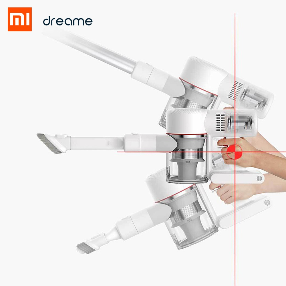 Image 3 - Xiaomi Dreame V9 vacuum cleaner Handheld household Portable Wireless Cordless cyclone Suction Dust Collector For Home Car-in Vacuum Cleaners from Home Appliances