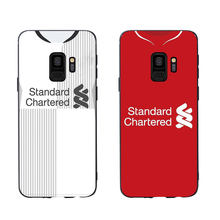 Liverpooll Jersey Stijl Siliconen Telefoon Case Cover Voor Samsung Galaxy S6 S7 Rand S8 Plus S9 Plus S10 Plus E lite Soft Case(China)