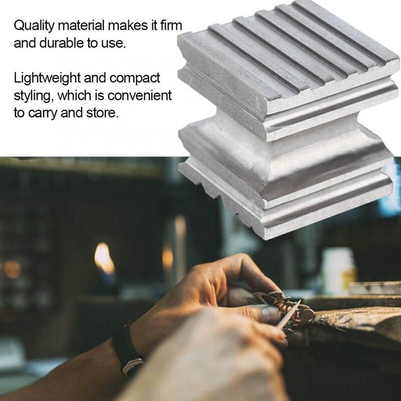 Poinçon carré de bloc de dging de dôme en acier de dureté élevée formant l'outil de façonnage pour la fabrication de bijoux