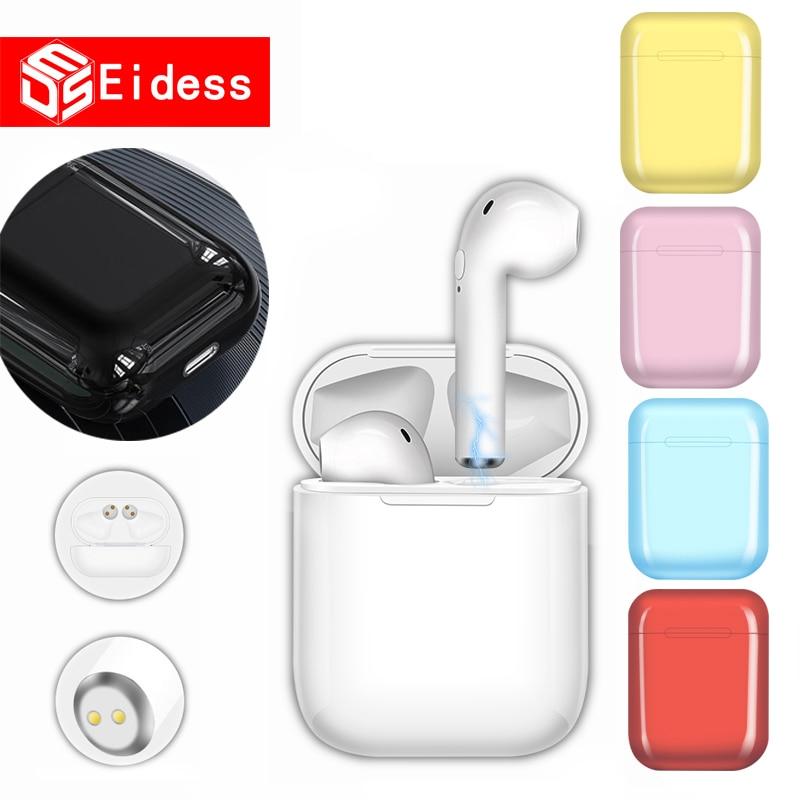 I9s TWS Wireless Bluetooth Earphones Mini Earbuds Earpiece Handsfree Earphone Headphones Headset Charging Box For Xiaomi Iphone