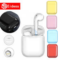 i9s TWS Wireless Bluetooth Earphones Mini Earbuds earpiece Handsfree Earphone headphones Headset Charging Box for xiaomi iphone