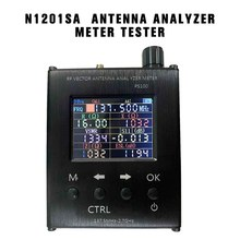PINTUDY N1201SA UV RF Vector Impedance ANT SWR Antenna Analyzer Meter Tester 140MHz Network Analyzers 400mA Analysis Instruments(China)