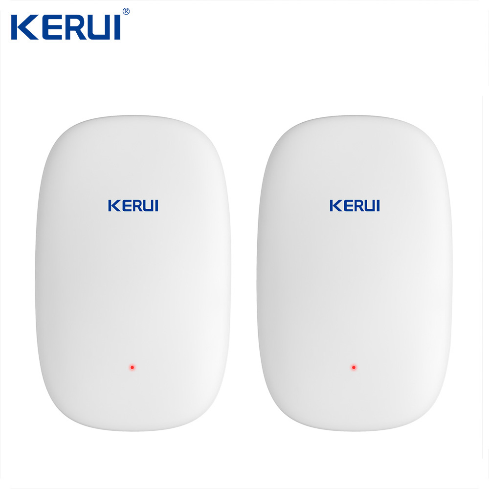 Newest KERUI Z31 Wireless Vibration Detector Shock Sensor For Home Alarm System built-in Antenna Smooth Appearance