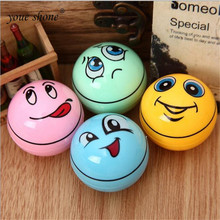 2pcsCreative cartoon ball single hole pencil sharpener Safety and environmental protection wholesale retail