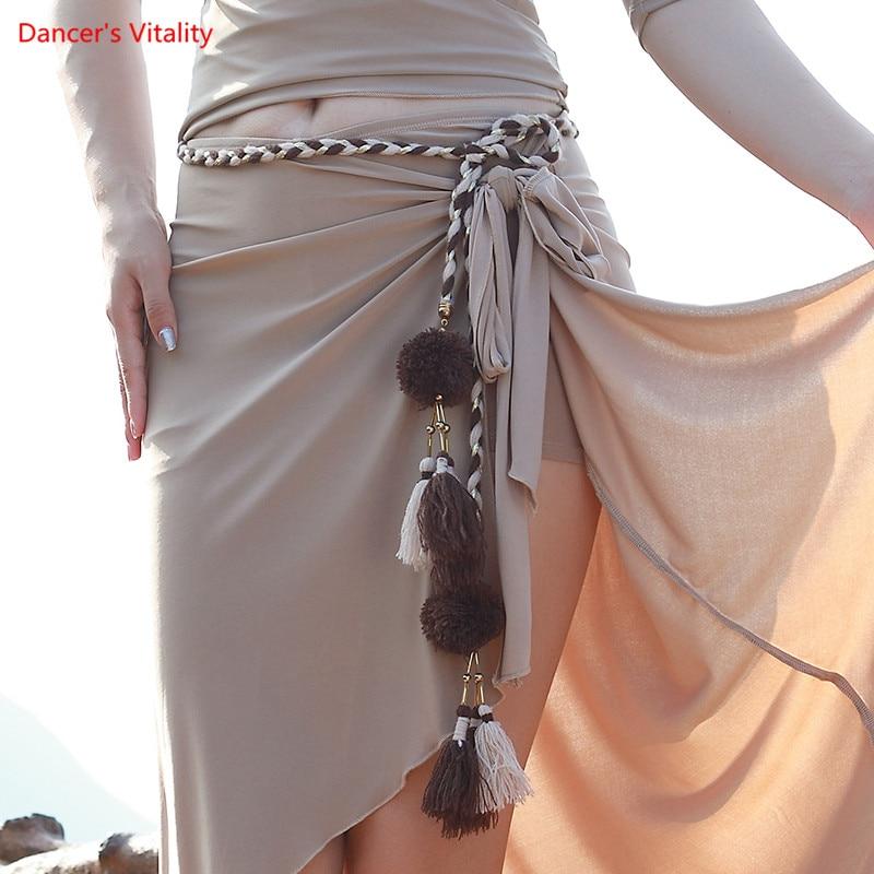 Belly Dance Belt Lengthening Fabric Tassel Waist Chain Special Wild Waist Chain New Dance Dance Accessories