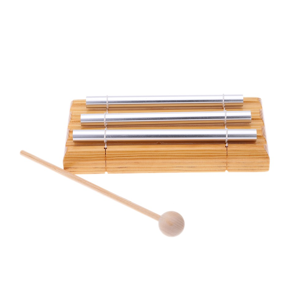 Energy Chime Three Tone With Mallet Exquisite Kid Children Musical Toy Percussion Instrument For Kids Baby Children