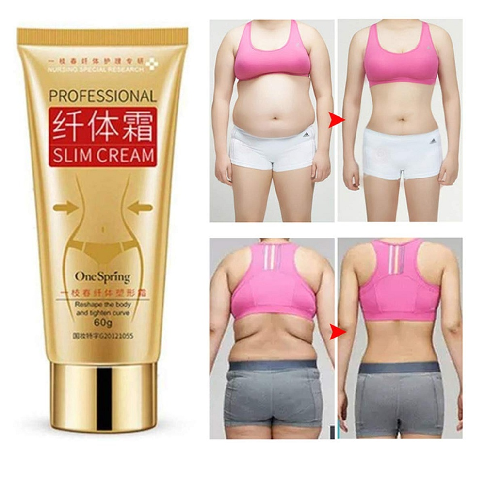 Slimming Body Creams Chinese Herbal Losing Weight Fat Burning 60g/bottle Amazing Lose Weight Effect Slimming Gel