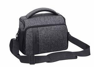 Image 4 - DSLR Camera Bag Digital Cameras Camcorder Case for Nikon Z7 Z6 Z5 Z50 D3500 D5600 Canon EOS R5 R6 R RP 850D Panasonic S1 S5 G9