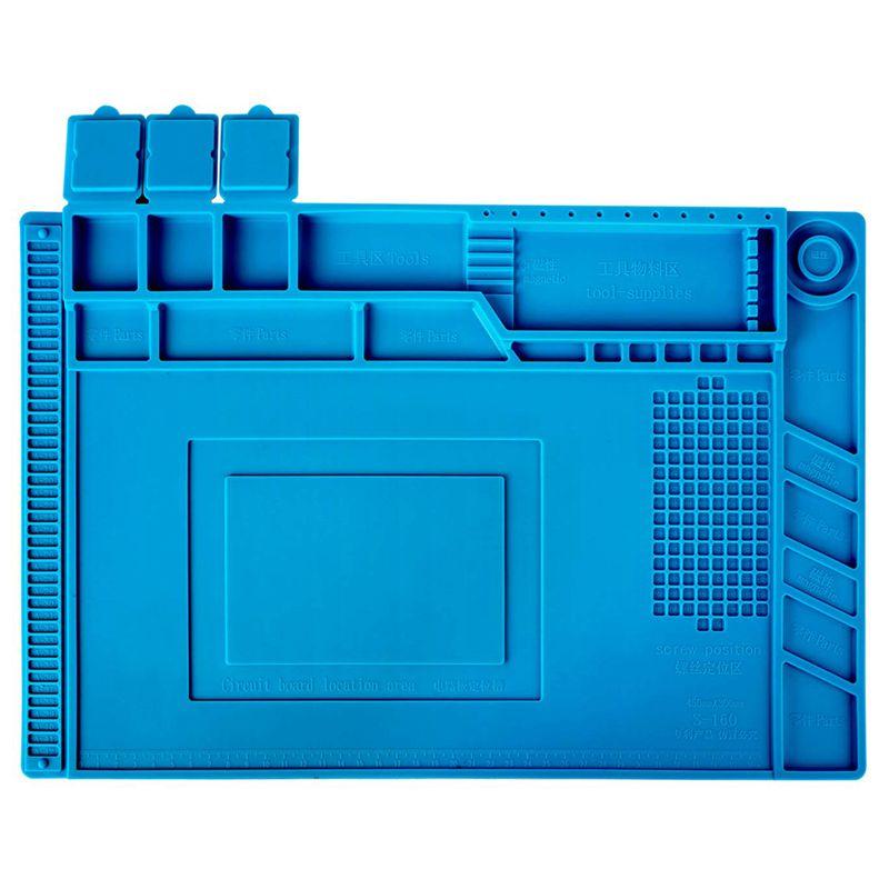 ESD Теплоизоляционный рабочий коврик термостойкая паяльная станция BGA ремонтная изоляционная прокладка изоляционная подушка для