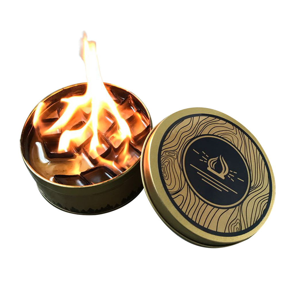 Brasero À L Éthanol us $1.98 34% off|portable outdoor fire pit reusable campfire outdoor  lighting cold cold protection fire tank heating fireplace backyard  brasero|fire