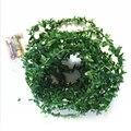 10 м гирлянда в виде листьев  праздничная лампа  AA батарея  работает  медь  100 светодиодов  сказочные гирлянды для рождества  свадьбы  вечеринк...