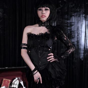 Szale damskie szalik Vintage zwykły szale moda damska solidne przebranie na karnawał Party Gothic szal z jednym ramieniem tanie i dobre opinie Unisex Dla dorosłych Poliester CN (pochodzenie) Patchwork 21116 Podgrzewacze ramię AUTUMN