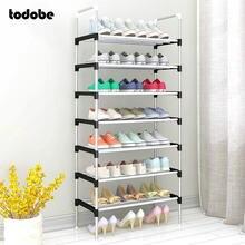 Multi-camada sapato cremalheira fácil instalação portátil economia de espaço em casa dormitório suporte titular sapato prateleira organizador sapatos gabinete