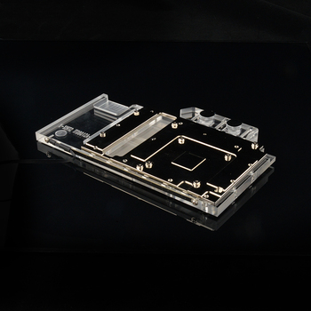 Syscooling Graphics card Water cooling block for MSI GeForce GTX 1060 GAMING X 6G image